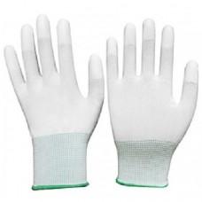 ถุงมือ PU เคลือบปลายนิ้ว