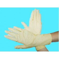 9 inch pitted latex gloves