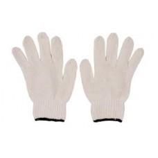 ถุงมือผ้าฝ้าย (500 grams) ขอบสีเขียว